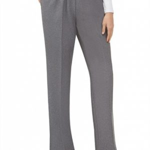 Alia conventional pull on pants in grey