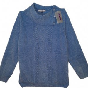 Blue Chenille Top