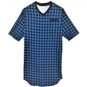 adaptive flannel nightshirt
