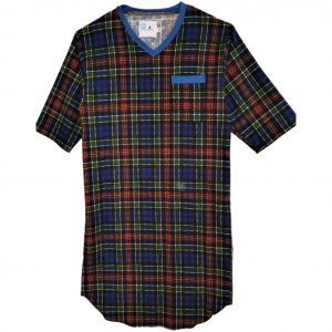 Mens flannel nightshirt