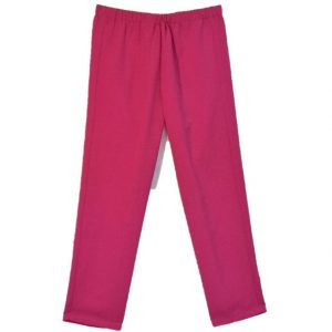 Ladies Open back pant pink