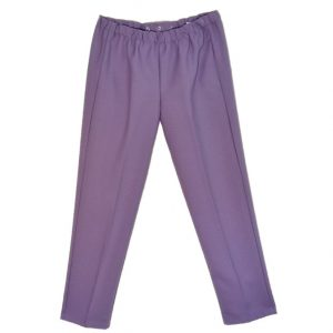 Ladies Adaptive pants mauve