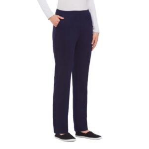 Alia Plus size pant navy stretch