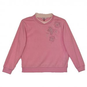 Alia Polar fleece top pink