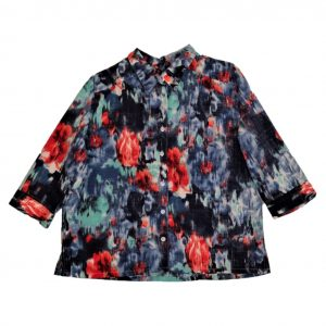 Ladies Adaptive blouse slate
