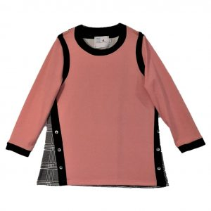 Ladies Open back top shell pink