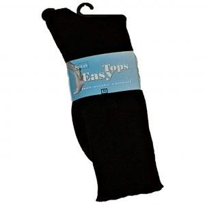 Easy tops socks black