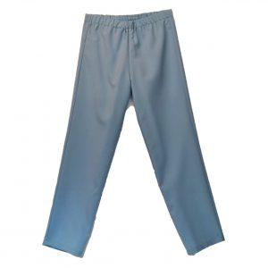 Ladies Open back pants powder blue
