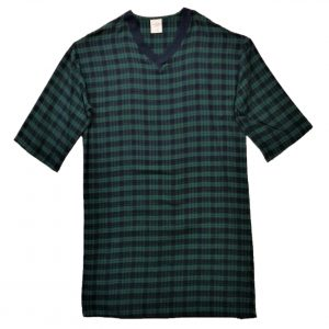 3X mens flannel nightshirt