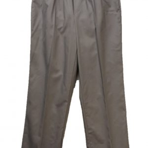 Mens adaptive pants twill grey